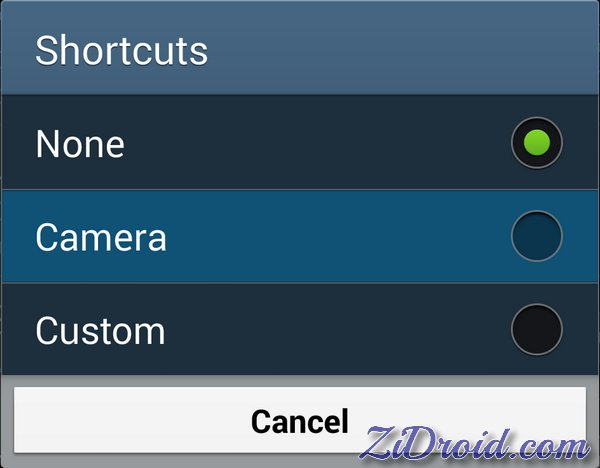 Fix Lock Screen Camera Shortcut