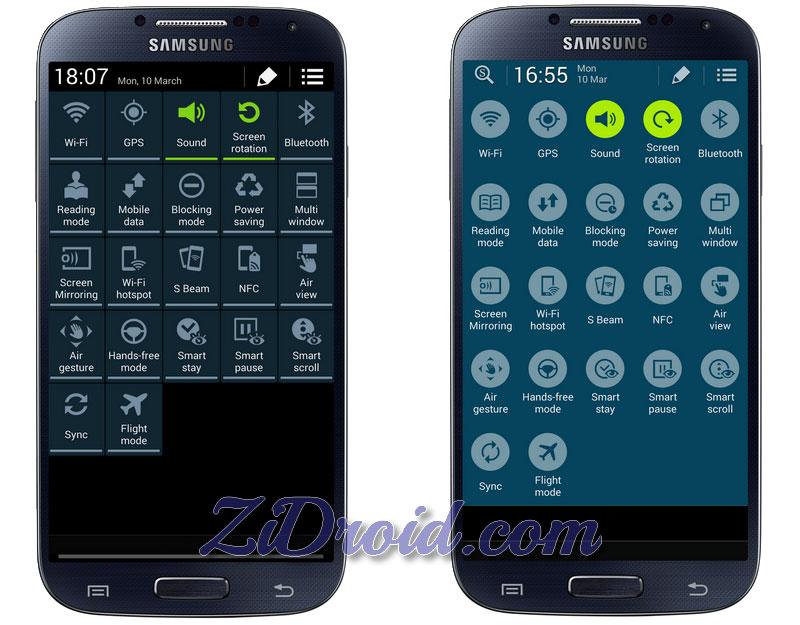 Get Galaxy S5 Status Bar