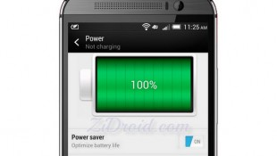 Enable Power Saver For HTC M8 Verizon