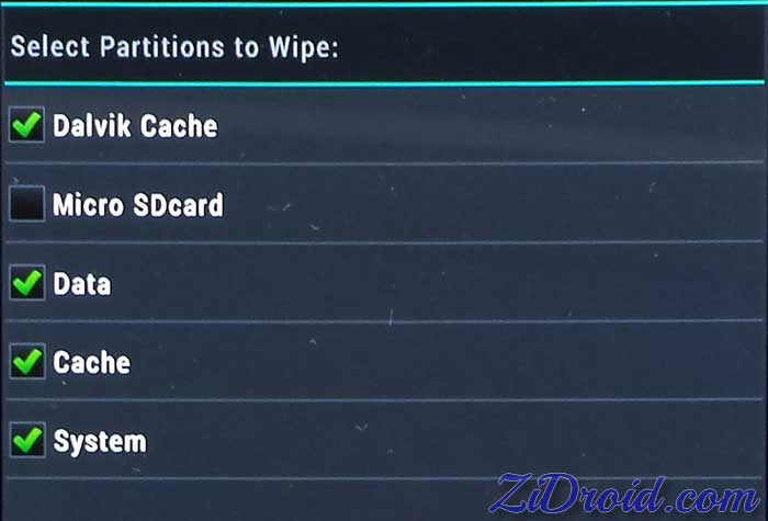Image Result For Wipe Cache Partition Droid