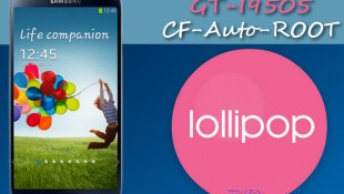 CF-Auto-Root for Samsung Galaxy S4 I9505 on Android Lollipop 5.0
