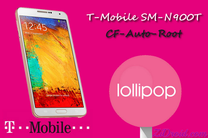 CF-Auto-Root for T-Mobile SM-N900T