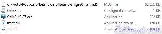 G920T CF Auto Root Files
