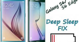 Fix Battery Drain & Deep Sleep on Galaxy S6