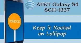 Keep Root AT&T Galaxy S4