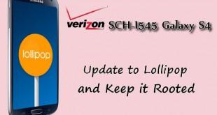 Keep Root I545 on Lollipop