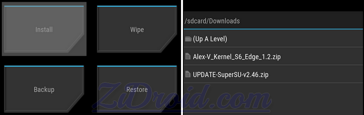 Flash Kernel and SuperSU Galaxy S6 Edge