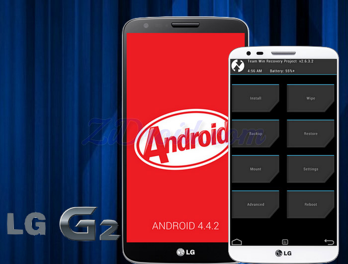 How to Install Custom Recovery for LG G2 [4 4 2 KitKat