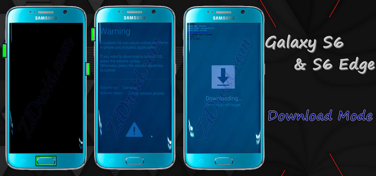 Samsung galaxy S6 / S6 Edge Download Mode