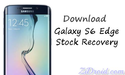 Download T-Mobile Galaxy S6 Edge [G925A] Stock Recovery – ZiDroid