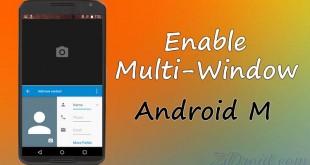 Multi-Window Android M