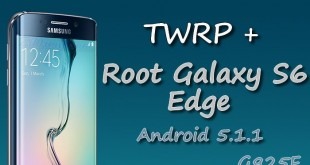Root Galaxy S6 Edge G925F Android 5.1.1