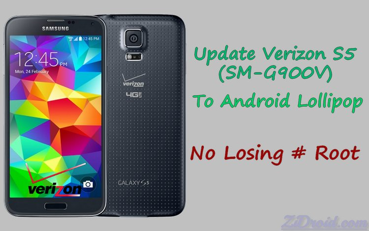 How to Keep Root & Update Verizon Galaxy S5 to Lollipop [OE1] – ZiDroid